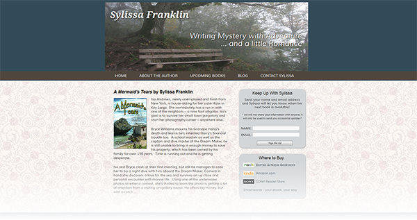 Mystery Author Sylissa Franklin