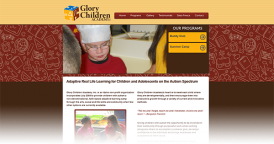 Web Design for Glory Children Academy