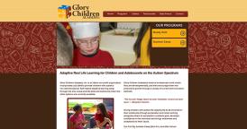 Web Design for Glory Children Academy
