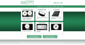 Web Design for POSISource Corporation