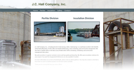 Web Design for JC Hall Company