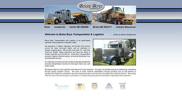 Transportation & Logistics out of Boise