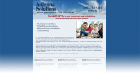 Web Design for Antenna Solutions