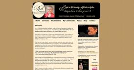 Web Design for Ruth Romero