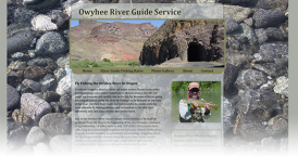 Web Design for Owyhee River Guide Service