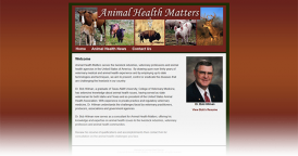 Web Design for Animal Health Matters