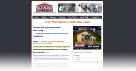 Web Design for Treasure Valley Seamless Siding