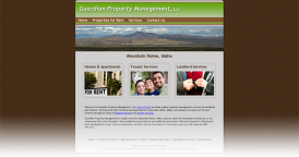 Web Design for Guardian Property Management