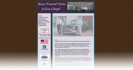Web Design for Aclesa Chapel - Boise Funeral Home
