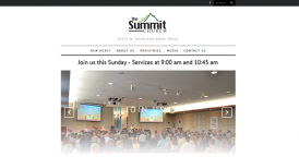 Website for The Summit Church