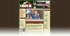 Web Design for The Rock Church