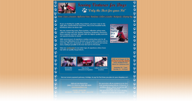 Web Design for Sewing Ventures For Dogs