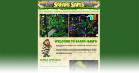 Website for Safari Sams