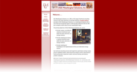 Web Design for DGS Metallurgical Solutions