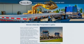 Web Design for Boise Boys Transportation