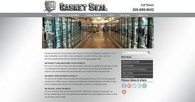 Website Design for Gasket Seal