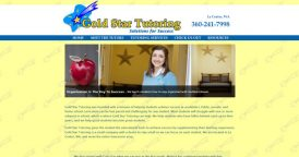 Website Design for Gold Star Tutoring