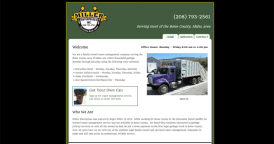 Web Design for Miller Enterprises