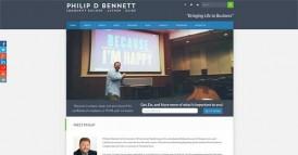 Website Design for Philip D Bennett