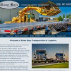 Website Re-design for Boise Boys Inc.