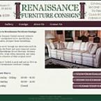 Web Design for Renaissance Furniture Consign Website