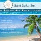 Web Design for Sand Dollar Sun Website
