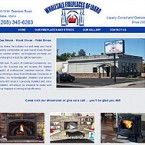 Web Design for Wholesale Fireplaces of Idaho Website