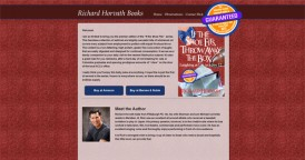 Website Design for Author Richard Horvath