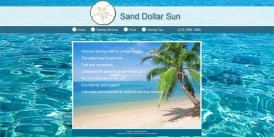 Website Design for Sand Dollar Sun