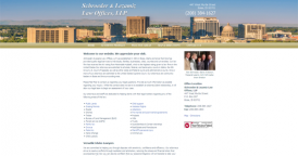 Web Design for Schroeder & Lezamiz Law Offices