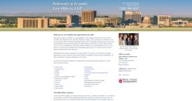 Web Design for Schroeder & Lezamiz Law Offices